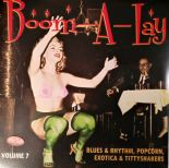 "10""/VA.✴✴BOOM-A-LAY✴✴Exotica Blues & Rhythm Vol.7-Popcorn, Exotica, Tittyshakers"